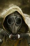 Nuclear apocalypse survivor Stock Images
