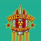 Nuclear arsenal illustration Stock Photos