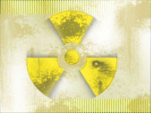 Nuclear background Stock Image