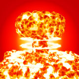 Nuclear blast Stock Images