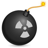 Nuclear bomb Stock Image