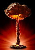 Nuclear bomb Stock Photos