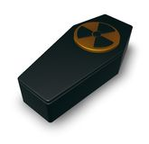 Nuclear coffin Stock Images