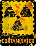 Nuclear contamination Stock Photos