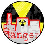 Nuclear danger. Stock Photo