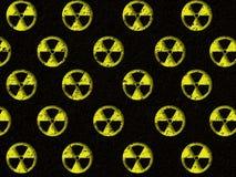Nuclear danger. Illustration. Warning sign : nuclear danger Stock Images
