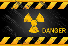 Nuclear Danger Background Stock Images