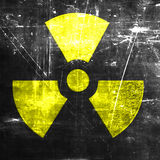 Nuclear danger background Royalty Free Stock Images