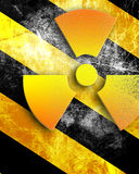 Nuclear danger background Stock Photos