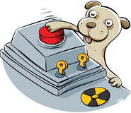 Nuclear Disaster Puppy Royalty Free Stock Image