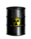 Nuclear drum Royalty Free Stock Photography