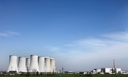 Nuclear electrical power station. In bohunice Royalty Free Stock Image