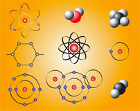 Nuclear Elements Stock Photo