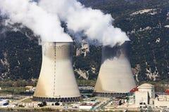 Nuclear energy Stock Photo