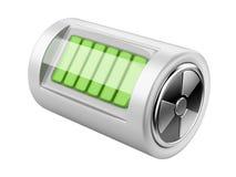 Nuclear energy battery Stock Photo