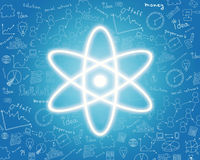 Nuclear energy icon Stock Images