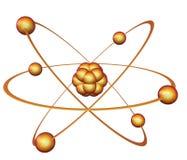 Nuclear energy symbol. Isolated on white background Stock Photo