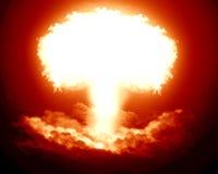 Nuclear explosion Stock Photos