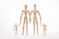 Nuclear family Royalty Free Stock Image