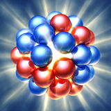 Nuclear fission Royalty Free Stock Photos