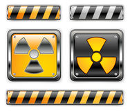 Nuclear icon Royalty Free Stock Images