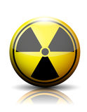 Nuclear icon Stock Photography