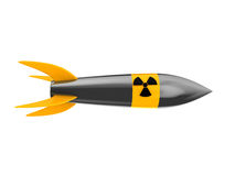 Nuclear missile Royalty Free Stock Image