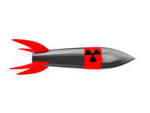 Nuclear missile Royalty Free Stock Photos