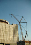 nuclear old plant Στοκ φωτογραφία με δικαίωμα ελεύθερης χρήσης