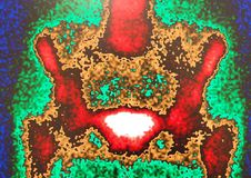 Nuclear medicine pelvic scan Stock Image