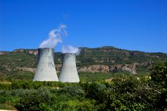 Nuclear plant Stock Images