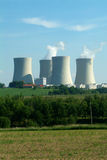 Nuclear plant Stock Photography