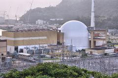 Nuclear plant in Brazil Stock Image