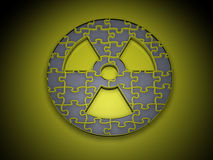 Nuclear power Royalty Free Stock Images