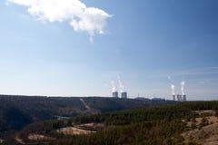 Nuclear power Dukovany Stock Image