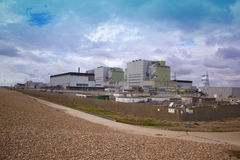 Nuclear power electricity station at Dungeness in Kent Royalty Free Stock Photo