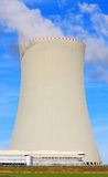 Nuclear power plant. Royalty Free Stock Photo