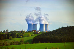 Nuclear Power Plant 6 Royalty Free Stock Images