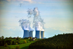 Nuclear Power Plant 7 Stock Image