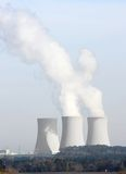 Nuclear power plant. Temelin in Czech Republic Europe Royalty Free Stock Photo