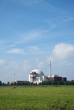 Nuclear Power Plant Brokdorf, Schleswig-Holstein, Germany Royalty Free Stock Images