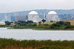 Nuclear power plant in the center of Spain Stock Photography