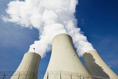 Nuclear power plant Stock Images
