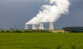 Nuclear power plant Dukovany in Czech Republic Europe Stock Photos