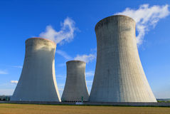 Nuclear power plant Dukovany in Czech Republic Europe Royalty Free Stock Photos