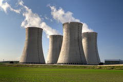 Nuclear power plant Dukovany in Czech Republic Europe Royalty Free Stock Photography