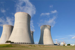 Nuclear power plant Dukovany in Czech Republic Europe Royalty Free Stock Image