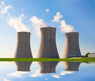 Nuclear power plant Dukovany in Czech Republic Europe Stock Images