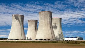 Nuclear power plant Dukovany - Czech Republic Royalty Free Stock Image