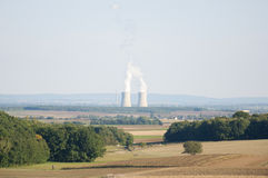 Nuclear Power Plant in Germany Stock Photo